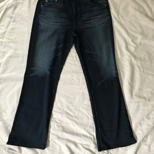 AG ANDRIANO GOLDSCHMIED BLUE DENIM JEANS SIZE 30